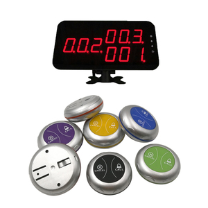 Ycall Table Call Bell Transmitter Restaurant pager wireless call system