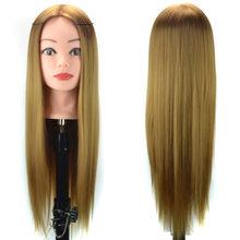 Парики для укладки волос, тренировочная голова, манекен, 4 цвета, кружевные передние парики, прямые парики для косплея, человеческие волосы(Китай)