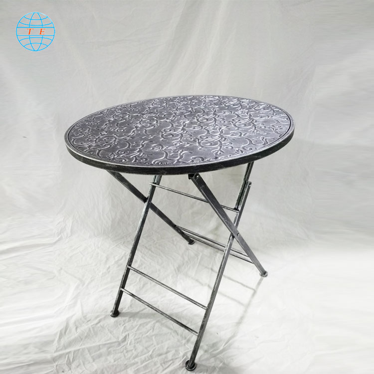 Nordic outdoor furniture afternoon tea garden chairs table outdoor metal tables and chairs
