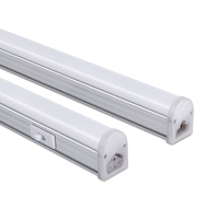 CCT Adjustable Under Cabinet Led Tube Light with ETL CE SAA Listed 60cm 30cm Color Changing T5 Integrated Led Tube Light