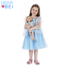 Fancy 2-10y Baby Girl Princess Elsa Dress For Girls Clothing,Comfortable The Same With Doll Girls Party Dresses