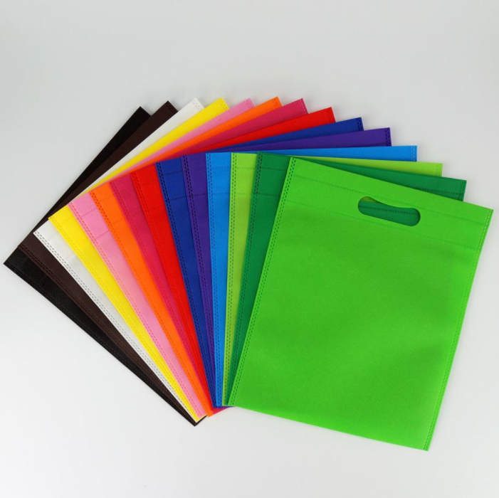 Cheap High Quality Eco-friendly Recycle Ultrasonic D Cut Non-Woven Bags