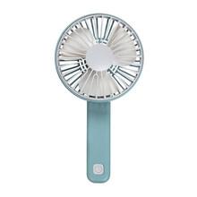 1 шт. портативный мини-вентилятор с USB зарядкой портативный бесшумный многоскоростной вентилятор с ветровой скоростью складной переносной ...(Китай)