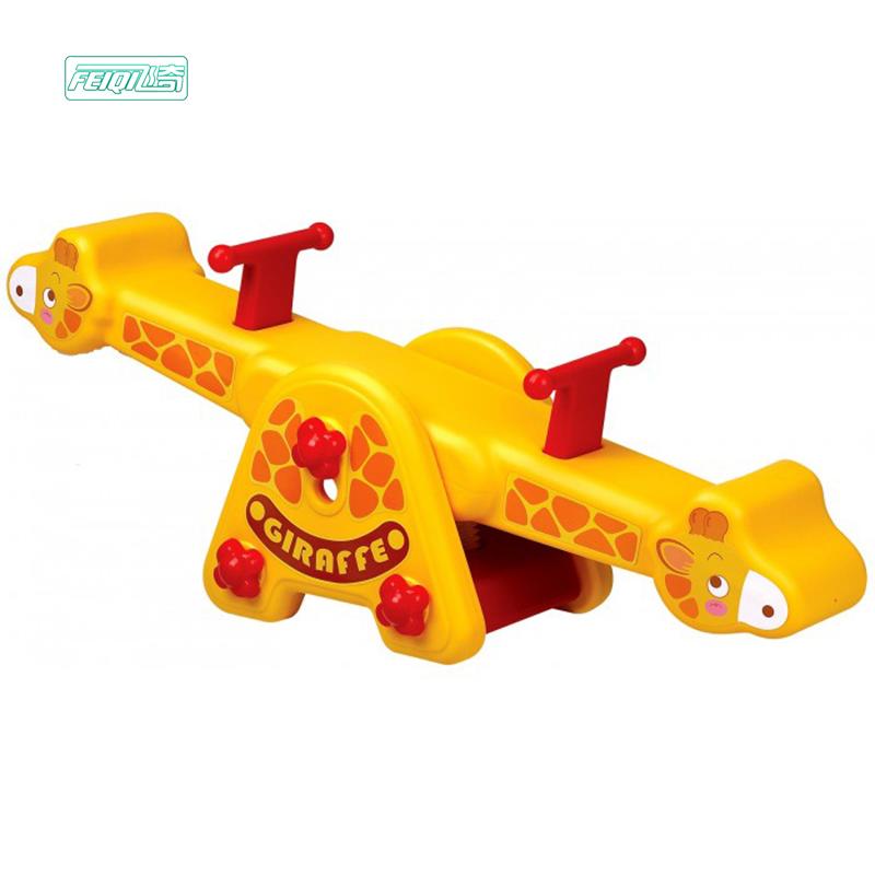 ילדים באיכות גבוהה מתקני שעשועים חמוד בעלי החיים תינוק פלסטיק נדנדה חיצוני ילדי קטן נדנדה לגן ילדים להשתמש