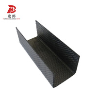 Single 15mm Carbon Fiber Rod and tubes solid FRP Profiles manufacturing price