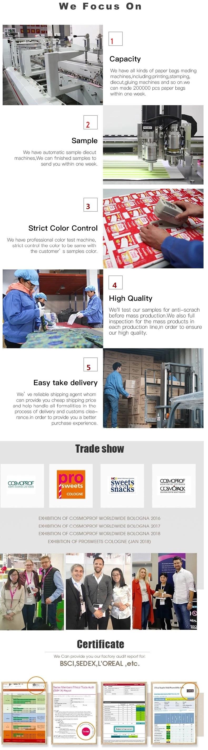 中国カスタムウェディングフォトブックバウチャー紙ソーラービジネスカード