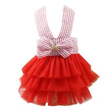 Одежда для собак, платье принцессы, свадебное платье с плюшевым щенком, маленькие собаки среднего размера, аксессуары для домашних животных...(Китай)