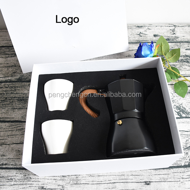 New customized coffee gift sets coffee cups coffee gift sets