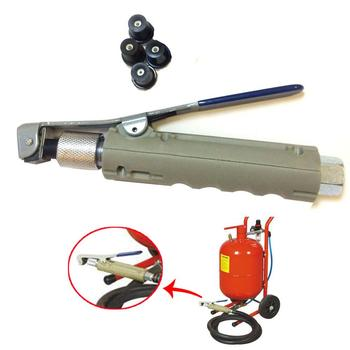 Holdwin Sandblaster Gun Kit for Portable Tank with 3 Extra Ceramic Nozzles