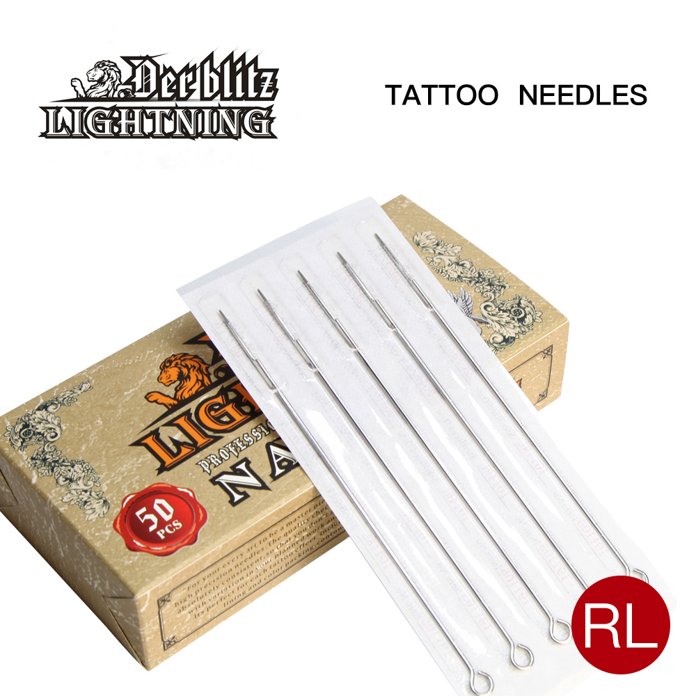 Professional l314 stainless steel individually blister packed Tattoo needle with certificated approved