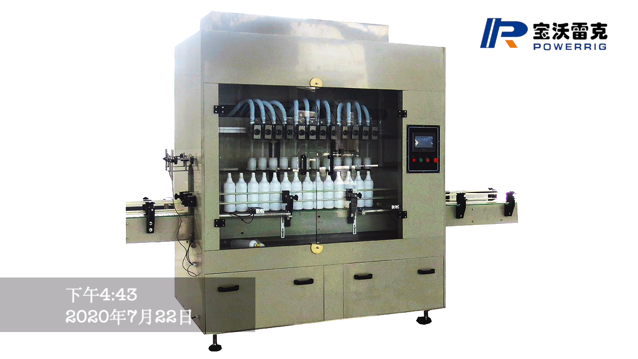 High precision  anticorrosive  liquid bottle filling capping machine