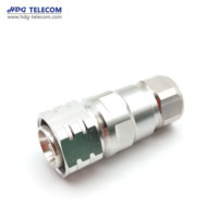 Wireless Radio Frequency RF Connector 4.3-10 Male Connector For 1/2 Superflexible Cable 50 Ohm
