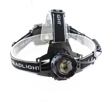 Portable Waterproof 3000 Lumens Headlight Lamp Adjustable High Power Headlamp Rechargeable Head Torches