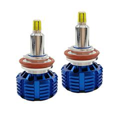Liwiny yüksek güçlü araba aksesuarları 12v 24v led motor far 100w otomatik araba led ışıkları 360 derece araba far ampul