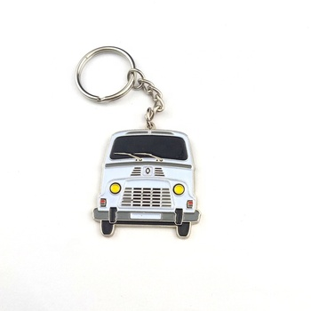 Promotion can be customized metal keychain for gifts