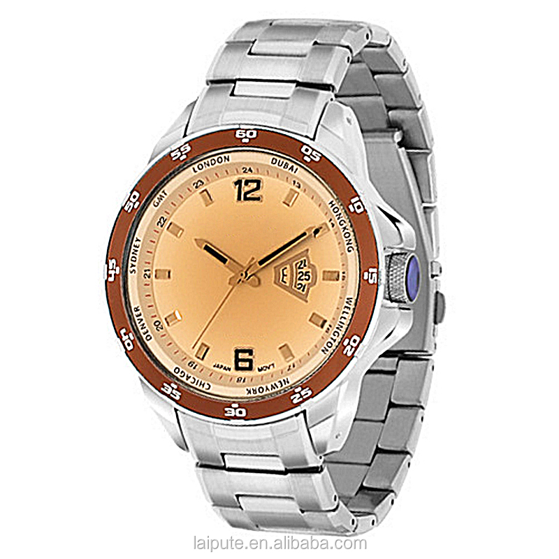reloj de hombre Stainless Steel Men Hand Watch men luxury high quality gift watch