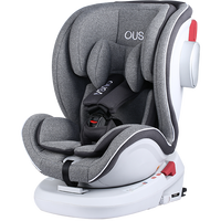 Baby Booster Car Seat Child Safety Chair Car Seat for Baby Universal Sit and Lay Isofix 6-point Harness 0~12Y