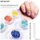 Nails Nail Art Sticker MCMANN Multicolor Japanese Style Nails Shell Fragments Decoration Female Glitters Nail Art Sequin Sticker Factory Wholesale