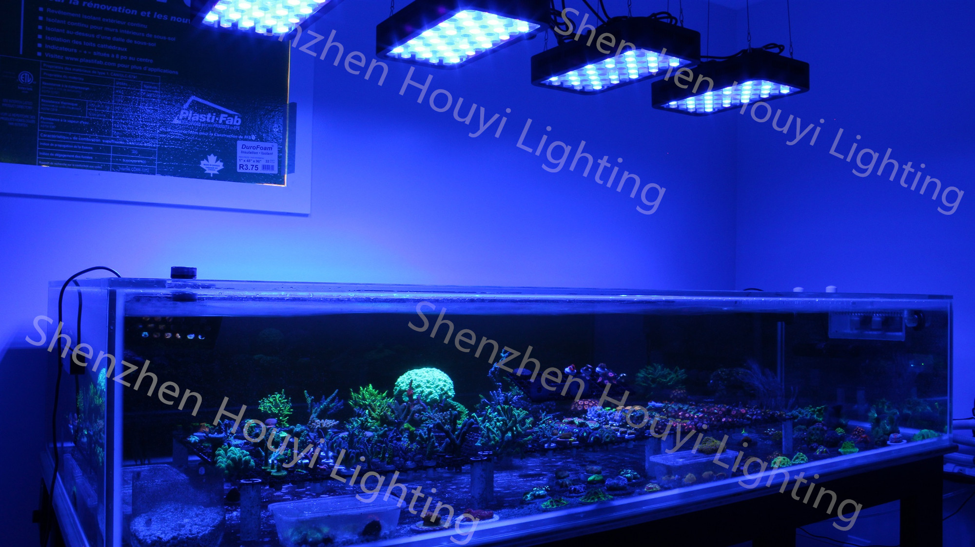 Smart WiFi Reef LED Licht Volledige Spectrum Zonsopgang en Zonsondergang LED Aquarium Licht