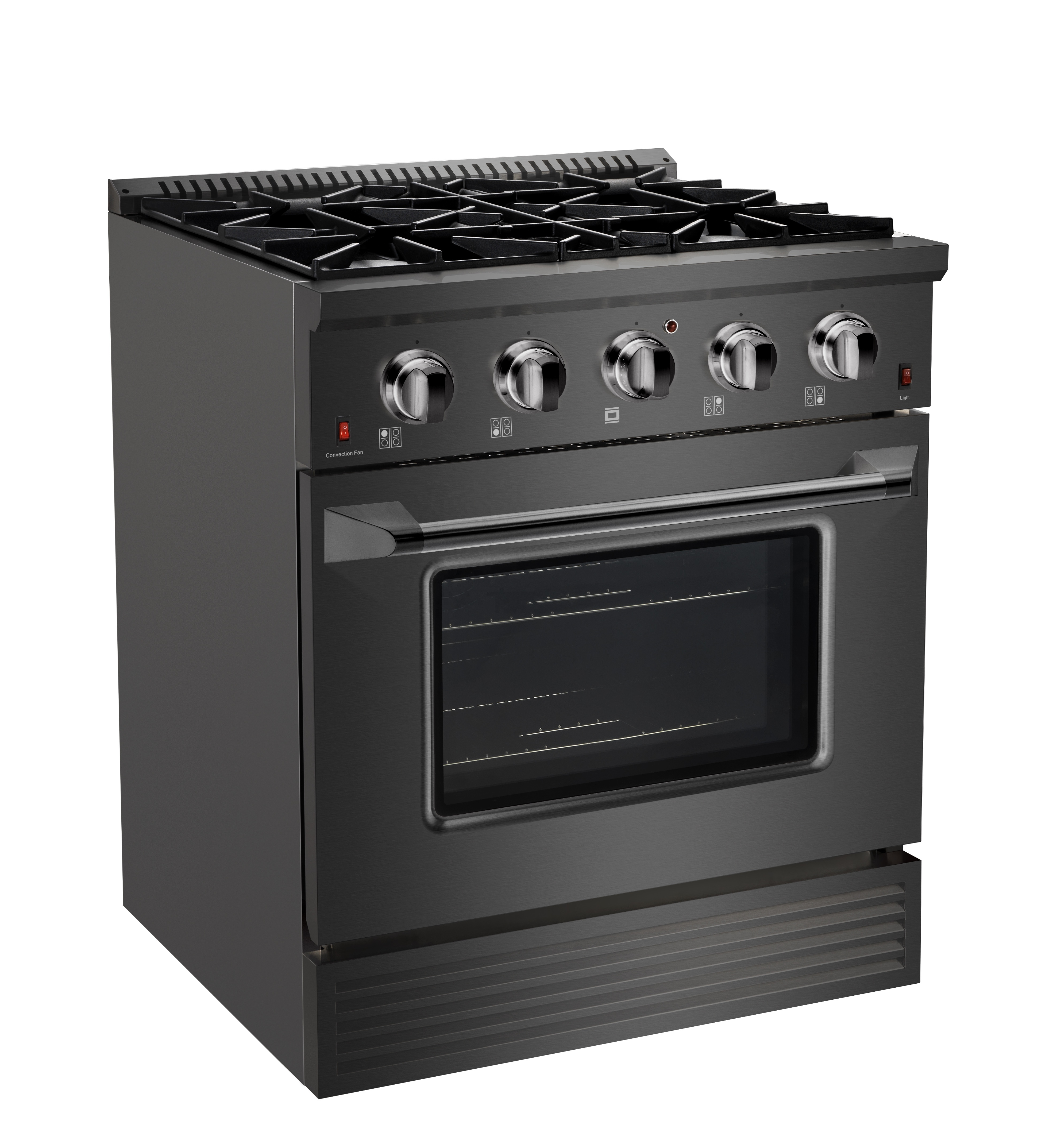 SENG CSA certified kitchen stainless steel professional gas range 4 burners free standing gas cooker oven