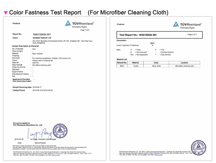 di alta qualità lente panno in microfibra custom bicchieri stampati panno di pulizia