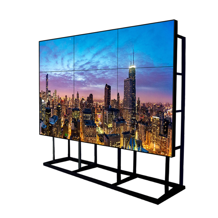 Fabrikant 49inch ultra smalle bezel 1.8 3.5mm HD 4K smart 1920x1080 naadloze 2x2 3x3 lcd video wall