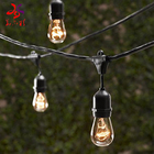 Huayicai E27 LED Light bulb waterproof connectable festoon string light for Christmas holiday decoration