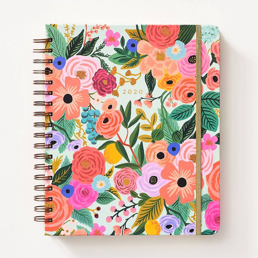 Custom 2019-2020 Gold WIRE-O Bound Planner Notebook Printing