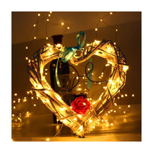 Halloween Thanksgiving Weihnachten Kupferdraht Led String Lichter für Indoor Outdoor Decor