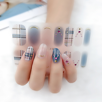 2020 Custom 3d Nail Wraps Beauty Sticker Nail Sticker Art Nail Decoration Sticker
