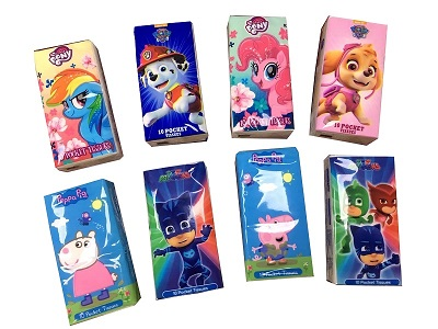 True Soft Comfortable Virgin Pulp Handkerchiefs Pocket Tissue For  Advertising Promotions