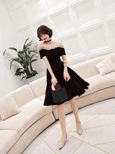 Элегантные платья для выпускного вечера It's Yiiya AR280, элегантные платья трапециевидной формы с вышивкой и кристаллами, вечерние платья бордов...(Китай)
