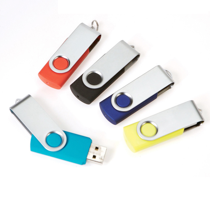 usb stick 3.0 Swivel pen drive USB 2.0 custom logo 16GB 32Gb 64 GB