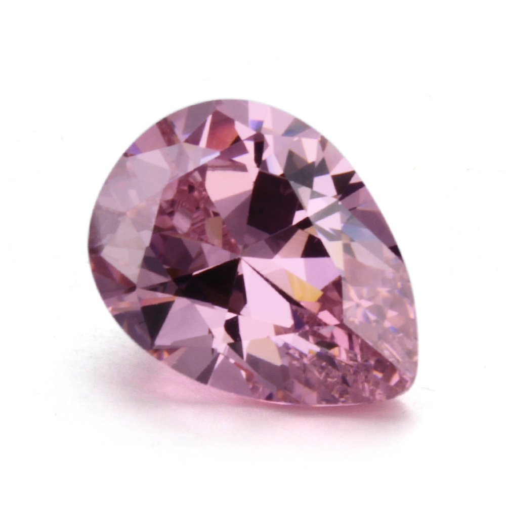 Pink cubic <strong>zirconia</strong>/Synthetic <strong>zirconia</strong> stone/Wholesale price synthetic CZ