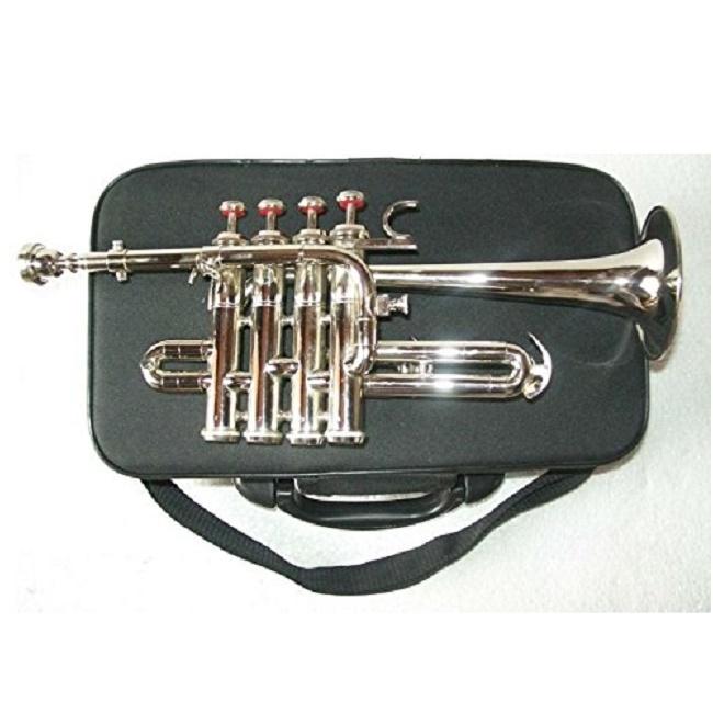 Nickel Sai Musical India Pocket Trumpet Bb