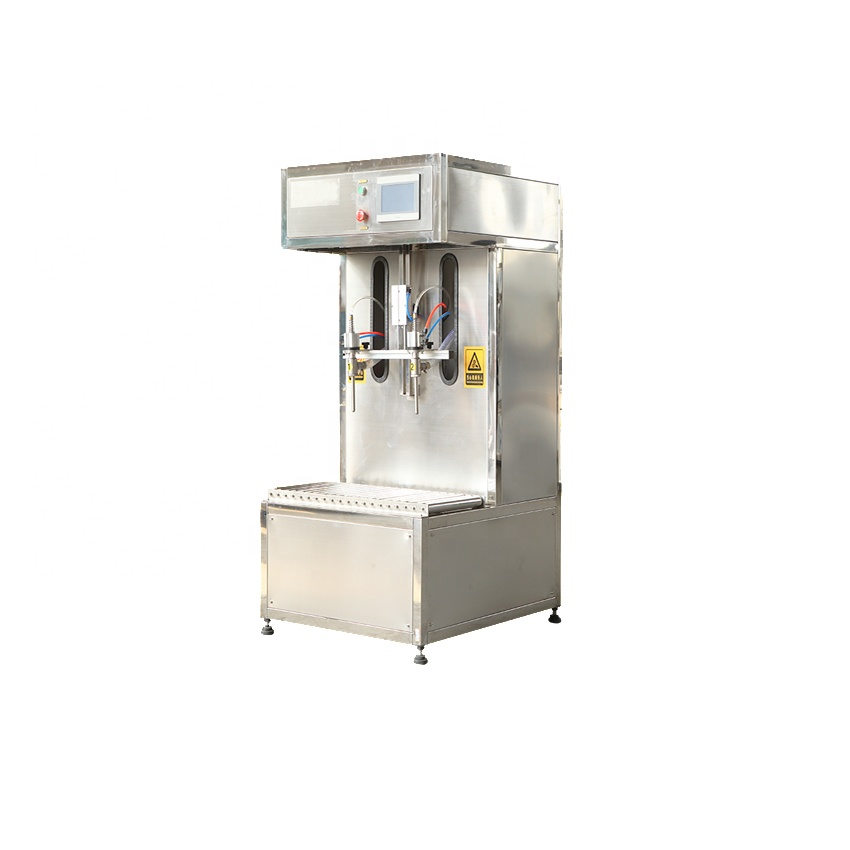 stainless steel 2 heads juice filler bottle filling machine sale