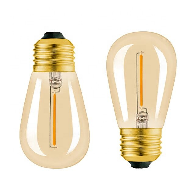 Vintage Edison Led Filament Light Bulb Lamp 2W Lighting Bulbs Manufacturer Cheap Prices Wholesale From China E26 E27 Home Lights