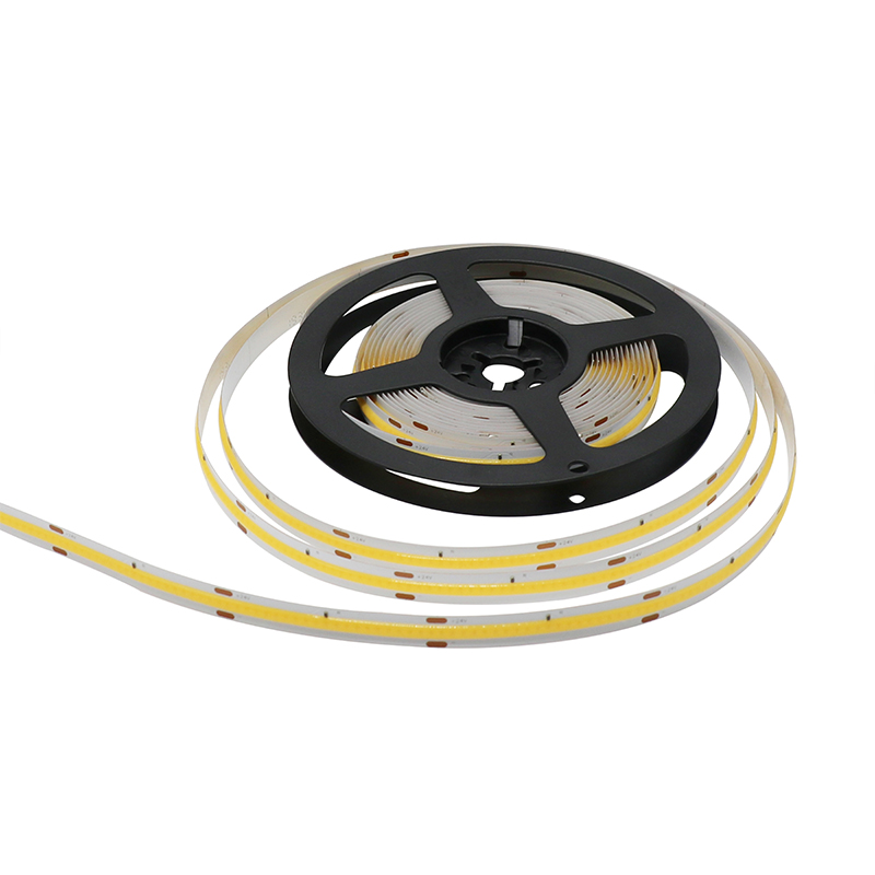 super quality best price Wide bending angle DC24V 2700k 3000 6000K 16.5ft cri80 cri90 10mm 5mm width white PCB cob led strip 24V