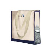 <span class=keywords><strong>Multi</strong></span> Purpose Durable Semplice Eco Tote Bag di <span class=keywords><strong>Tela</strong></span> Con Il Lato Del Supporto
