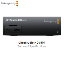 Blackmagic Design Ultrastudio Hd Mini 3G-SDI <span class=keywords><strong>Analoge</strong></span> Yuv Ntsc/Pal Ingangen Dual <span class=keywords><strong>Link</strong></span> 3G-SDI Output Broadcast Video Capture Apparaat