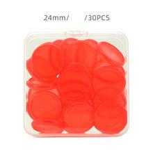 Кольцо для переплета, пластиковое кольцо для переплета в форме гриба, свободный лист, кольца для переплета, 18/24 мм, красочный блокнот, кольце...(Китай)