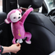 2019 Lovely Animal Cartoon Toy Car Back Seat Napkin Holder car hanging monkey Tissue Box Holder