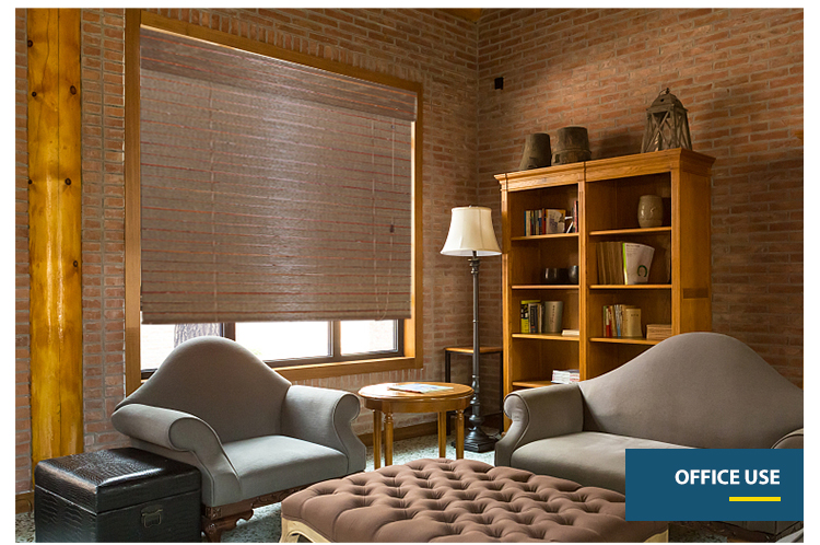 Factory wholesale bamboo roll up blinds outdoor curtains for windows