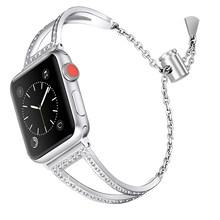 Ремешок для часов JANSIN, ремешок из нержавеющей стали для Apple watch 38 мм 42 мм 40 мм 44 мм iwatch 5 4 3 2 1(China)