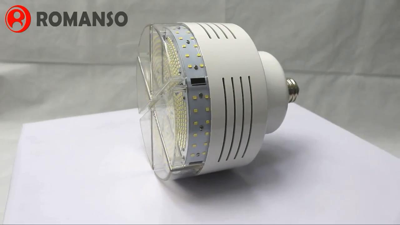 DLC Listed 50W 75W 100W 120W LED Retrofit Bulbs E39 E40 LED High Bay Lamp
