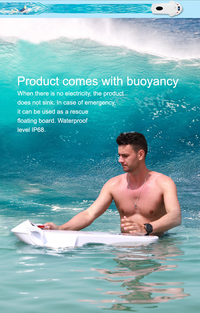 Leadway 2018 Electric Surfboard jet power surf price wholesale in China