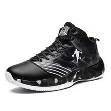 Мужские баскетбольные кроссовки с дышащей сеткой, Нескользящие уличные спортивные кроссовки для тренировок, спортивная обувь(Китай)