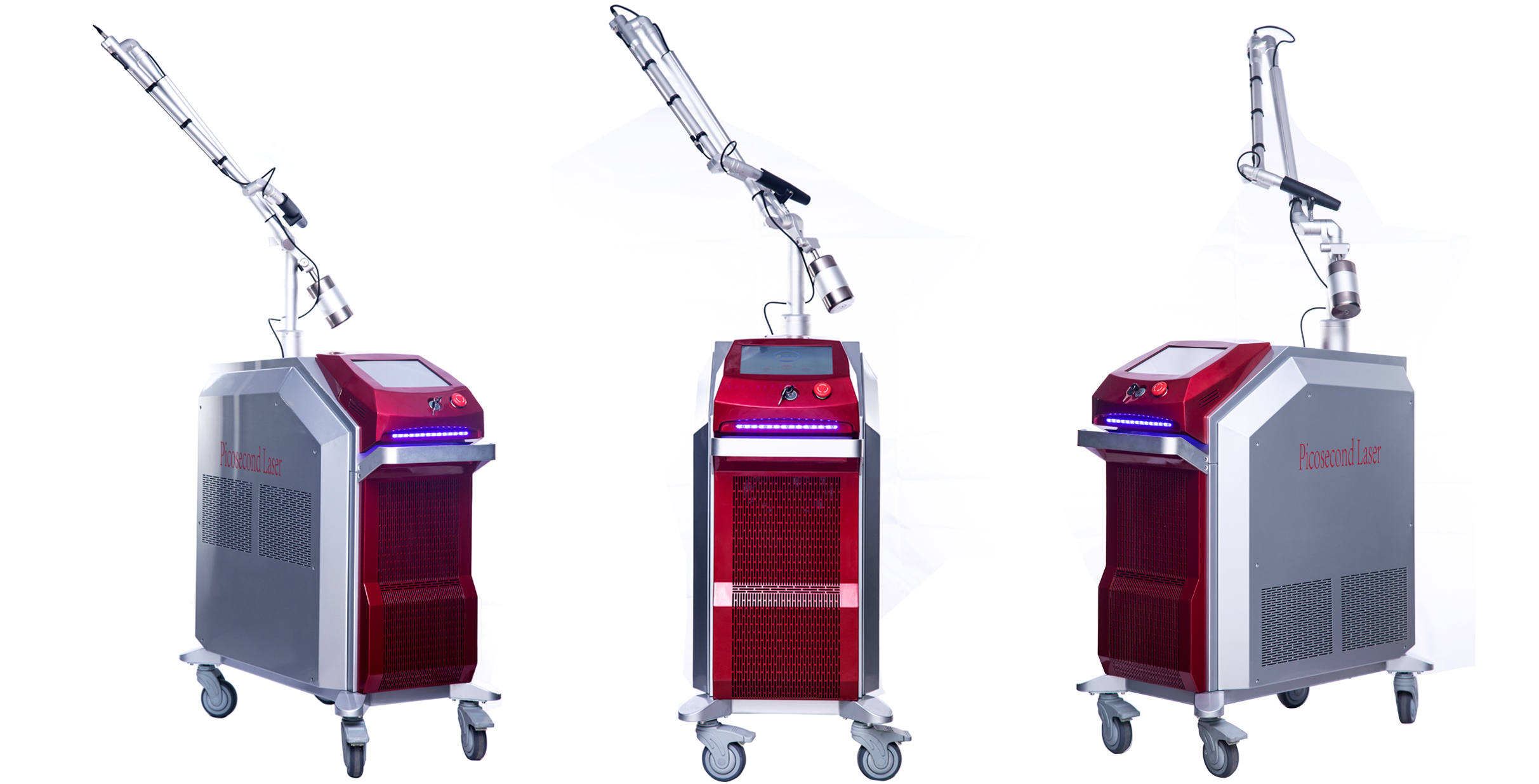 High energy medical Q Switched Nd Yag Laser tattoo/speckle/pigmentation removal picoway laser machine