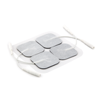 CE reusable 4X4cm non woven massage tens electrode pads for medical electrodes