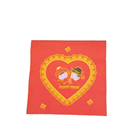 Customized disposable paper napkins for wedding